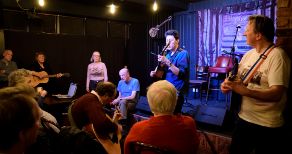 Encore at the Singers' Night, April 2016, by Janet Gover